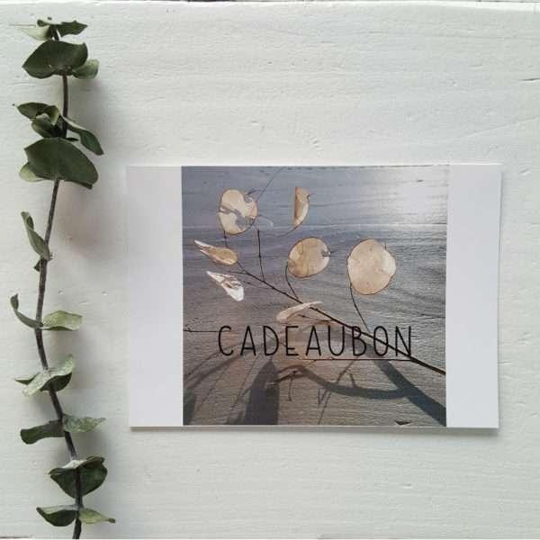 Cadeaubon 1